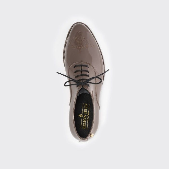 Lemon Jelly | Sapatos Oxford Femininos Castanhos | Vegan JENY 21