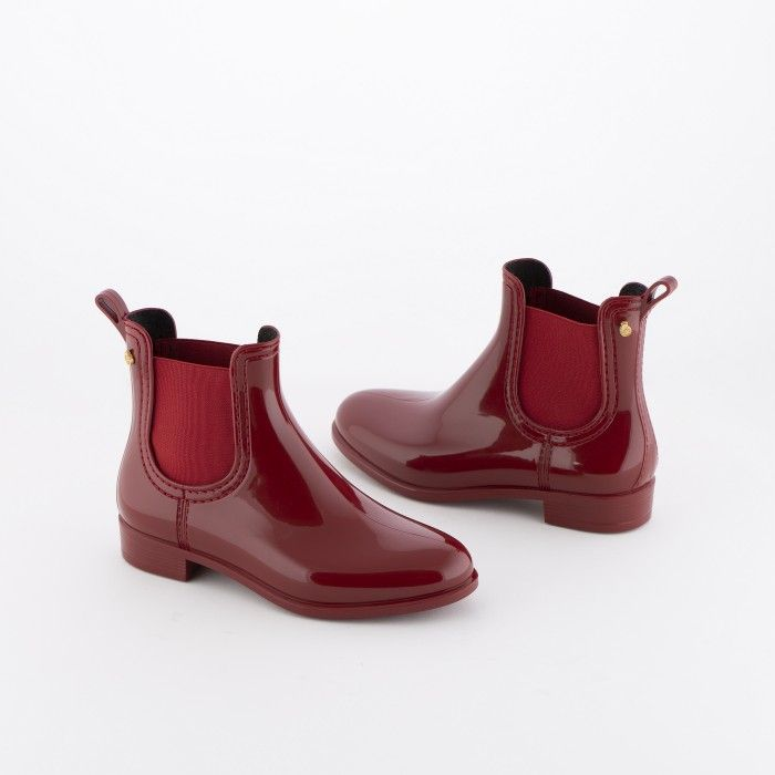 Lemon Jelly | Red Rain Ankle Boots for Girl | Kids BIA 27