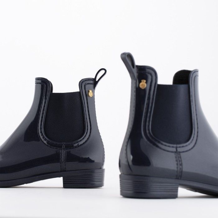 Lemon Jelly | Blue Rain Ankle Boots for Girl | Kids BIA 25