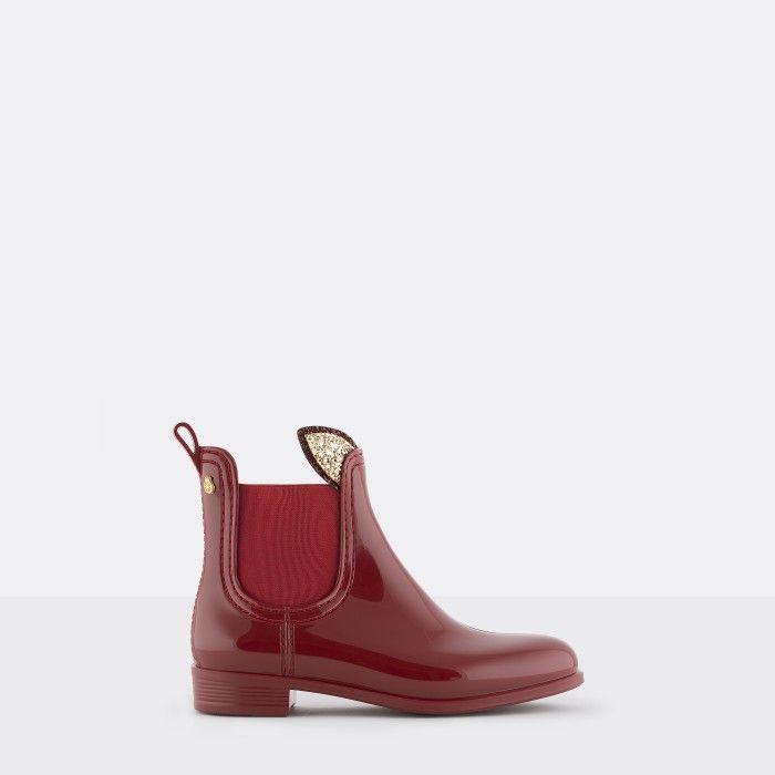 Lemon Jelly | Red Rain Boots with Bunny Ears | Girl FAUN 14