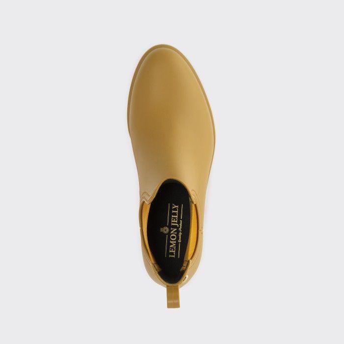 Lemon Jelly Rusted Gold Matte Rain Boots | Women SPLASH 09