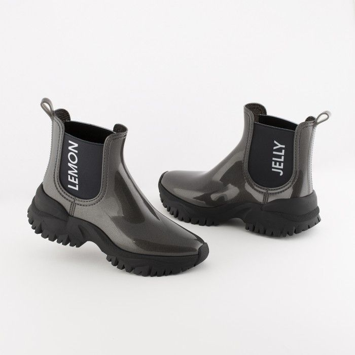 Lemon Jelly | Grey Sporty Low Boots | Women | Vegan JAYDEN 02
