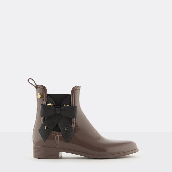 Lemon Jelly | Brown Chelsea Boots Castanhos with Bow BREANNA 03