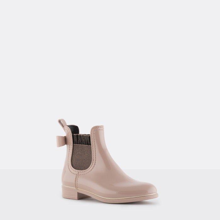 Lemon Jelly | Pink Rain Boots Frills & Glitter | Girl BRIA 03