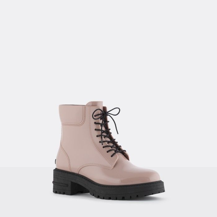 Lemon Jelly | Pink Military Boots | Vegan | Women CAILYN 03