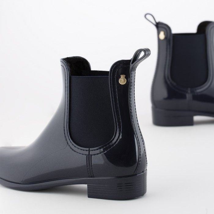 Lemon Jelly | Botas de Chuva Azuis Interior Pêlo WARM COMFY 03