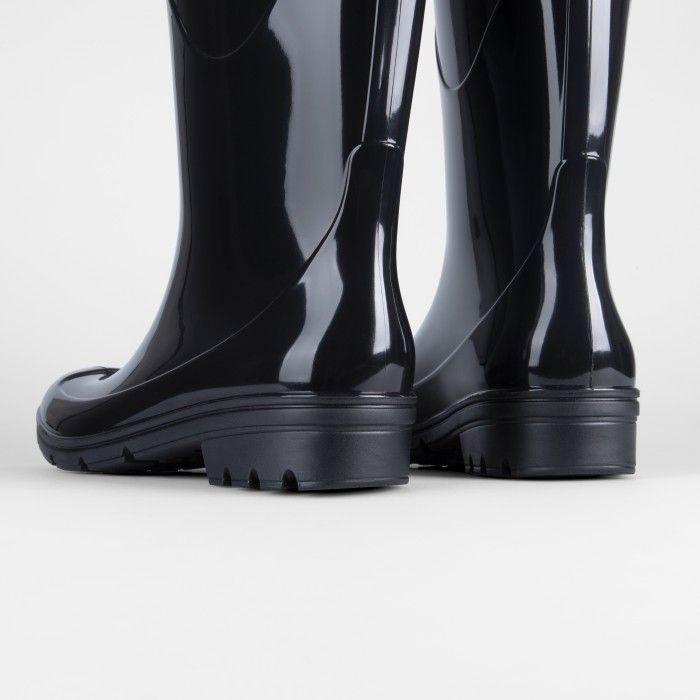 Lemon Jelly | Black Waterproof Knee High Boots | Women PULLER 01