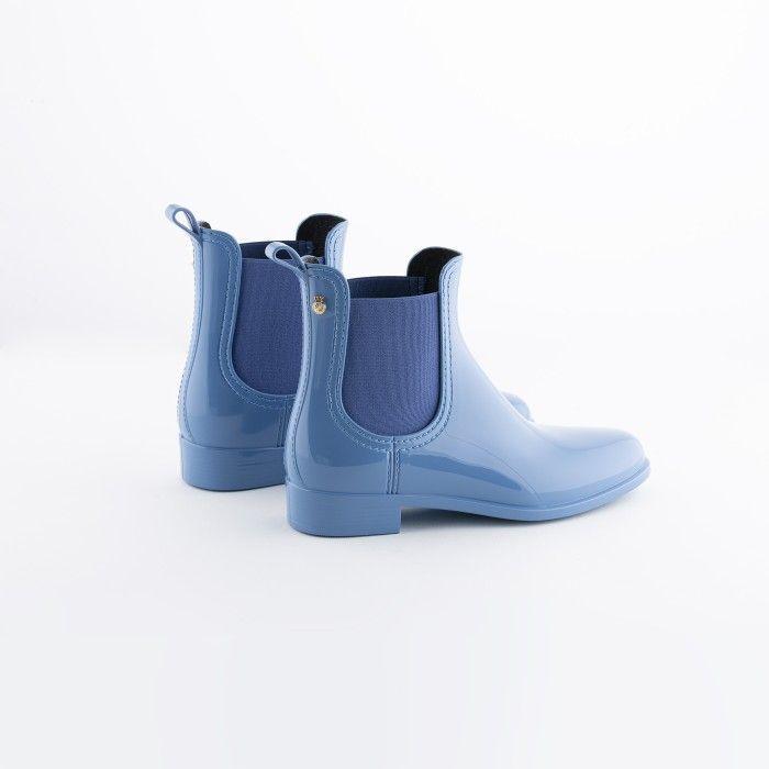 Lemon Jelly   Blue Chelsea Boots   Vegan Shoes   Women COMFY 40