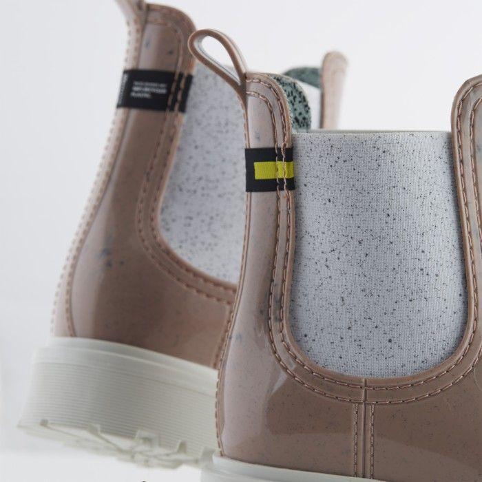 Lemon Jelly | Pink Recycled Boots w/ Male Sole | Women | MAREN 05
