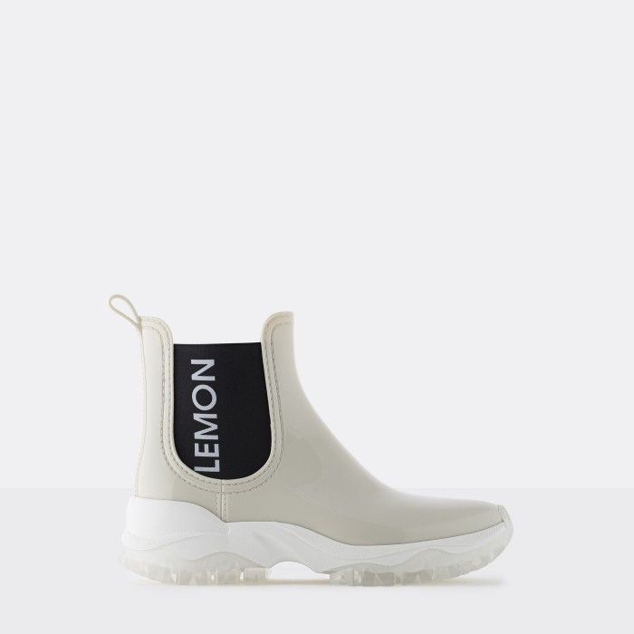 Lemon Jelly | White Sporty Low Boots for Women | Vegan JAYDEN 06