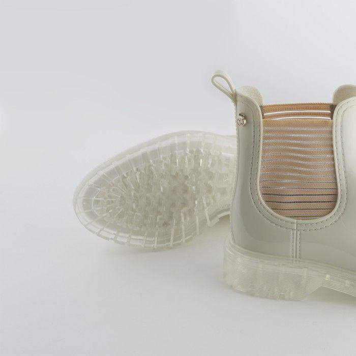Lemon Jelly | Summer White Low Boots for Women | Vegan ALEXIS 04