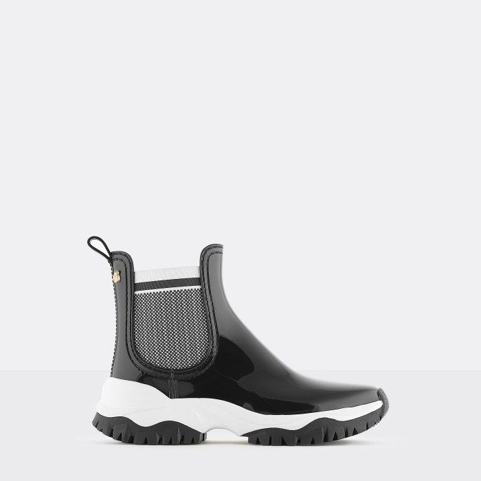 Lemon Jelly | Black Sporty Low Boots for Women | Vegan JORDAN 01