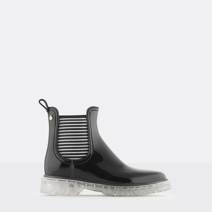 Lemon Jelly | Summer Black Low Boots for Women | Vegan ALEXIS 01