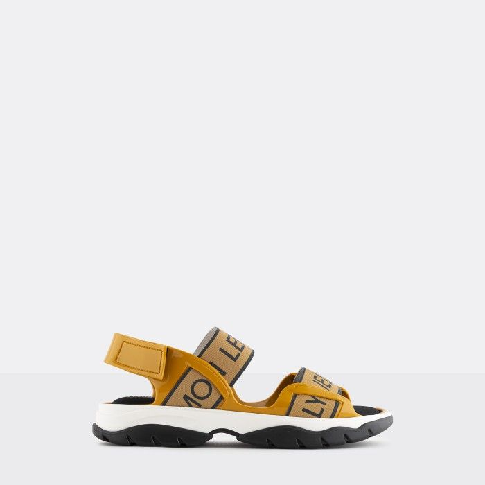 Lemon Jelly | Yellow Vegan and Sporty Sandals w/ Elastics BECKY 03
