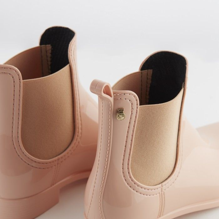 Lemon Jelly | Pink Chelsea Boots | Vegan Shoes | Women COMFY 37