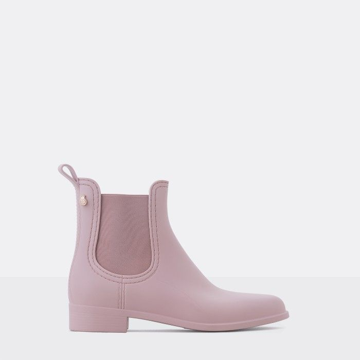 Pink Ankle Boots