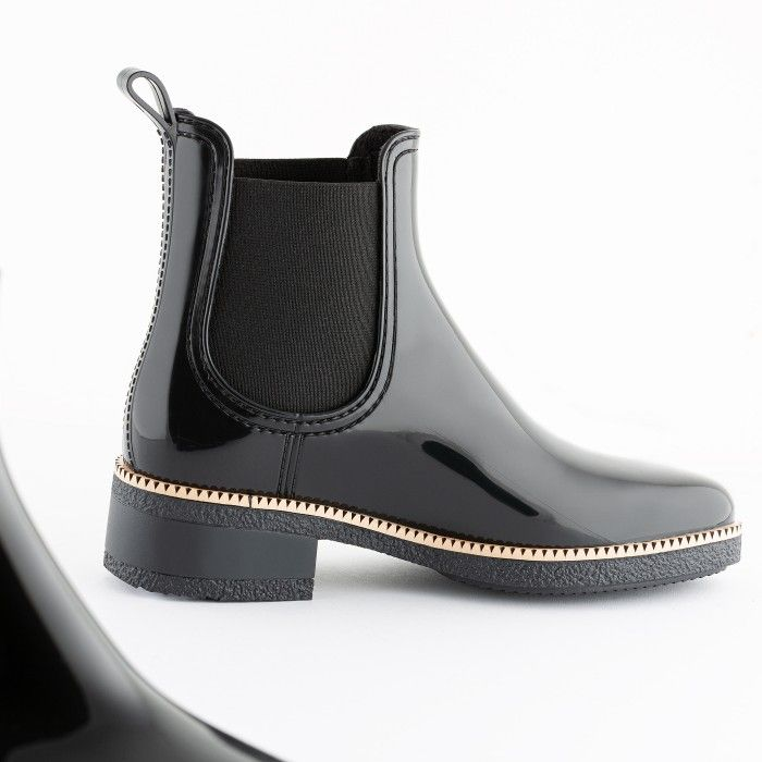 Lemon Jelly Vegan Black Ankle Boots with Low Heel WARM AVA 06
