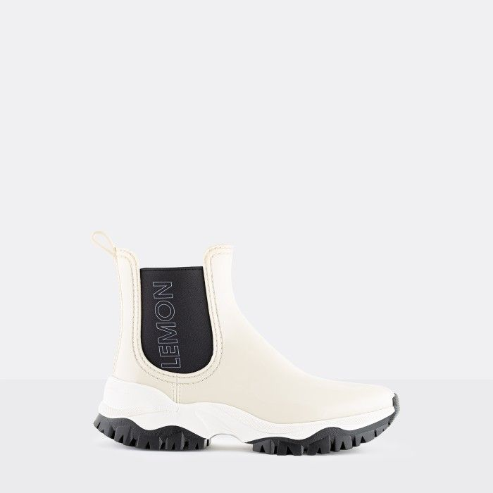 Lemon Jelly Women's Vegan Sporty Beige Ankle Boots JAYDEN 12