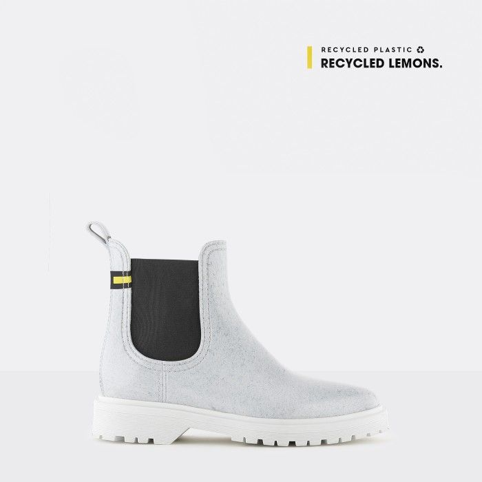 Lemon Jelly | Brancas Recycled Boots with Platform MAREN 03