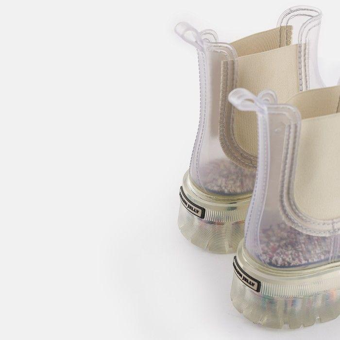 Lemon Jelly Moda Sustentável | Botas Transparentes Vegan RAVYN 01