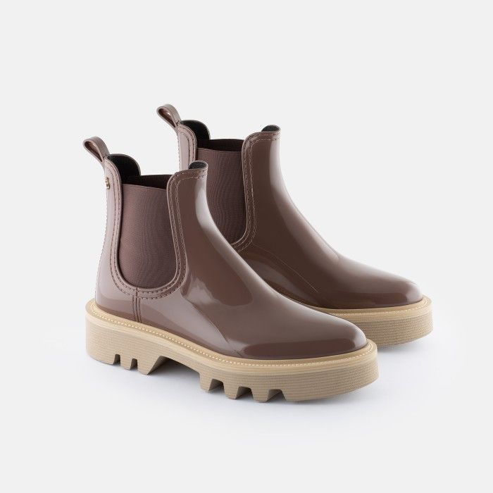 Lemon Jelly Super Light Jelly Brown Boots for Woman ROXIE 02