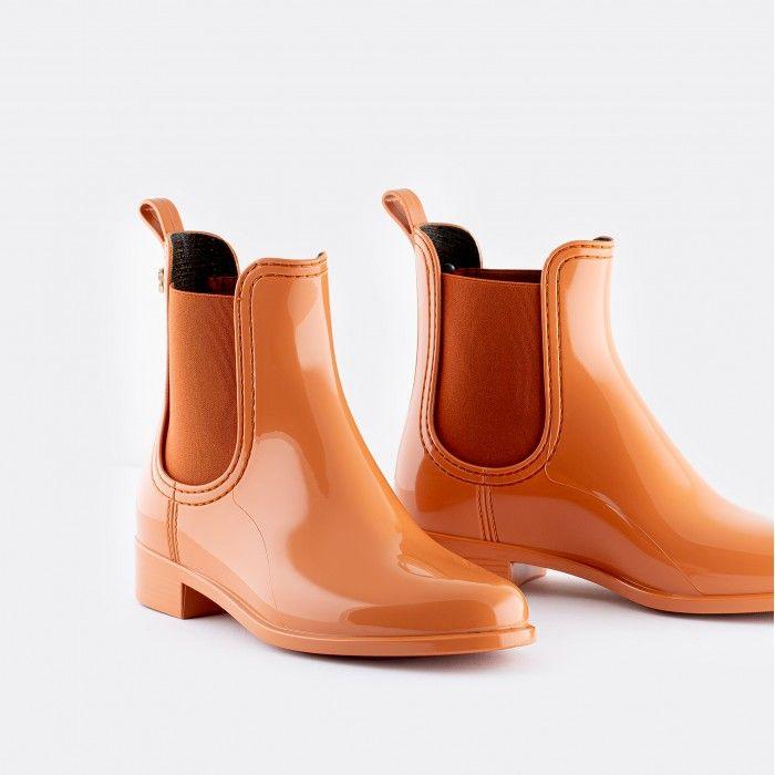 Lemon Jelly Chelsea Boots Orange COMFY 45 | Spring Summer 2021