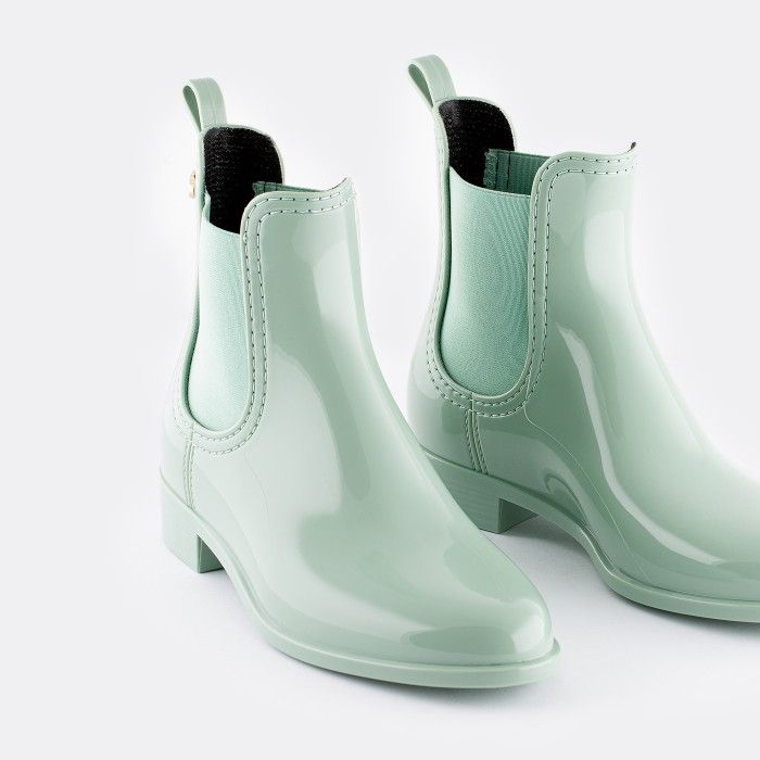 Lemon Jelly Chelsea Boots Frosty Green COMFY 47 | Summer