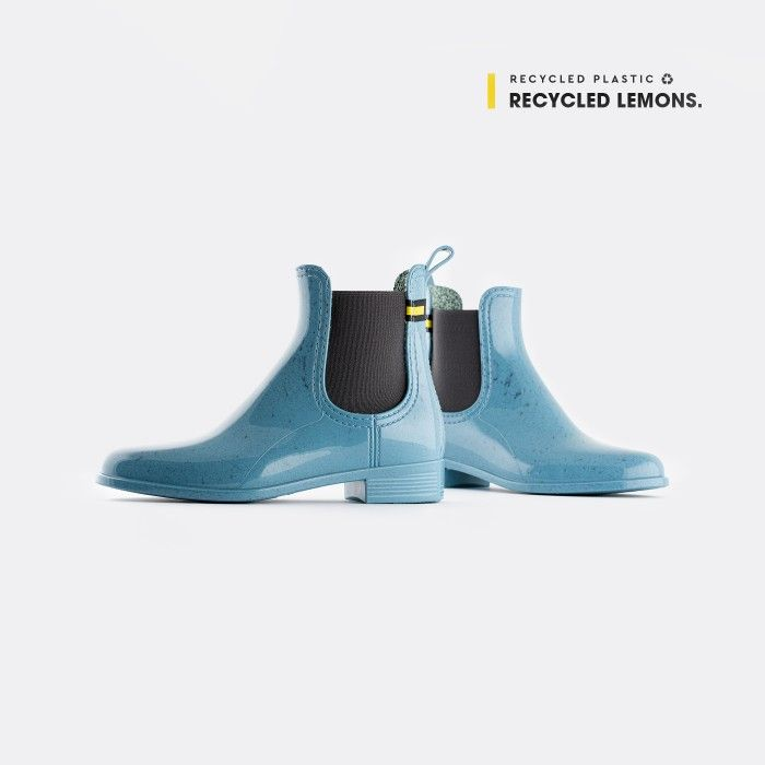 Lemon Jelly Chelsea Boots Blue BRISA 09 | Spring Summer 2021