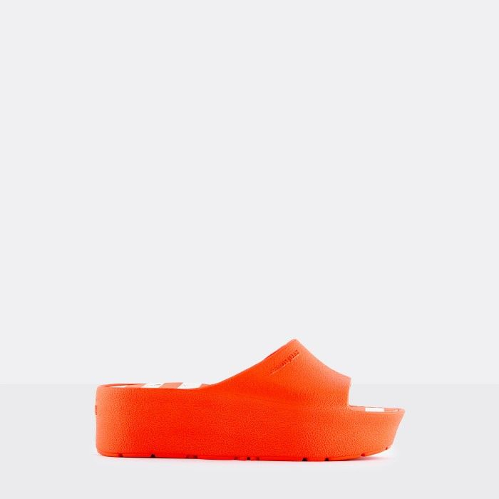 Lemon Jelly Platform Slides Red TEELA 03 | Spring Summer 2021