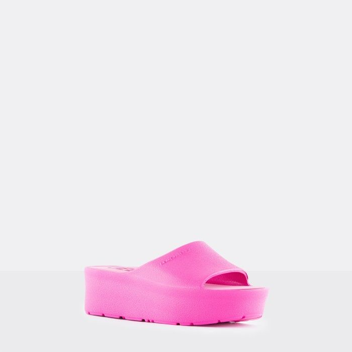 Lemon Jelly Platform Slides Pink SUNNY 21 | Spring Summer 2021