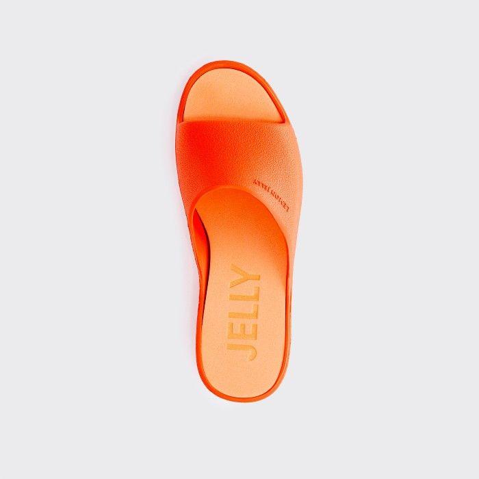 Lemon Jelly Platform Slides Red SUNNY 20 | Spring Summer 2021