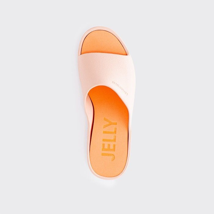 Lemon Jelly Platform Slides Pink SUNNY 19 | Spring Summer 2021