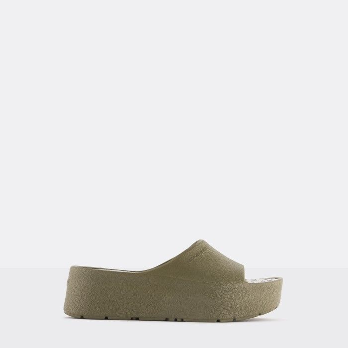 Lemon Jelly Platform Slides Green KIM 02 | Spring Summer 2021