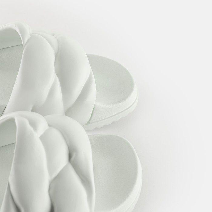 Lemon Jelly Slides White COCOON 06 | Spring Summer 2021