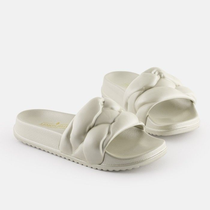 Lemon Jelly Slides Gold COCOON 05 | Spring Summer 2021