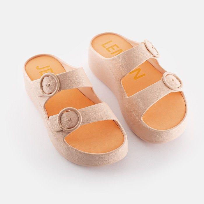 Lemon Jelly Platform Slides Pink GAIA 07 | Spring Summer 2021