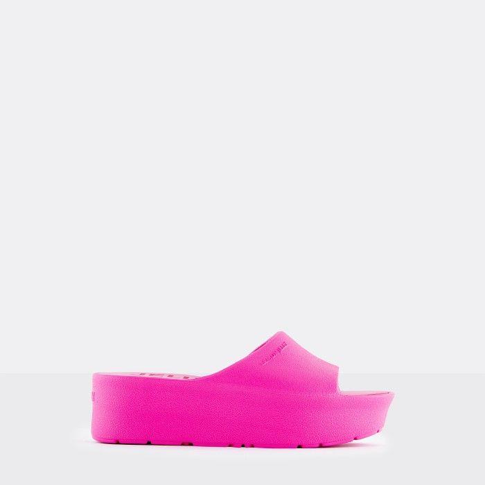 Lemon Jelly Platform Slides Pink SUNNY 21 | Spring Summer 2021