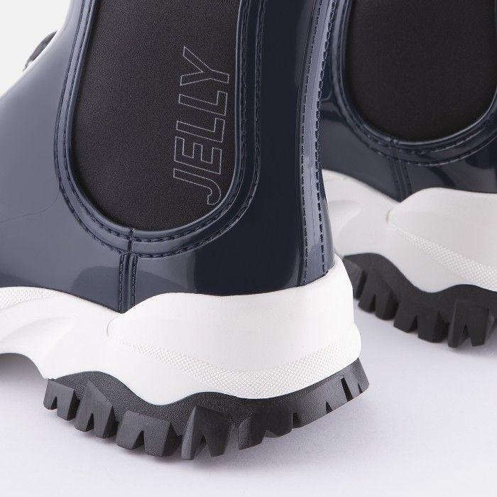 Lemon Jelly Women's Vegan Sporty Blue Ankle Boots JAYDEN 18