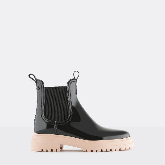 Lemon Jelly Super Light Pink Rain Boots for Woman WALKER 03