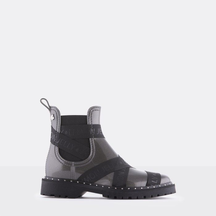 Lemon Jelly Vegan Pink Ankle Boots with Straps FRANKIE 12