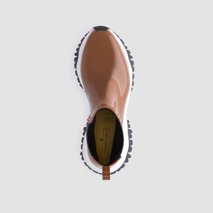 Lemon Jelly Women's Vegan Sporty Brown Ankle Boots JAYDEN 17