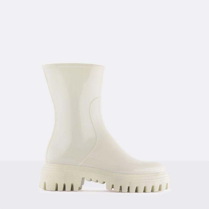 Lemon Jelly Super Light White Mid Calf Boots EXPLORER 05