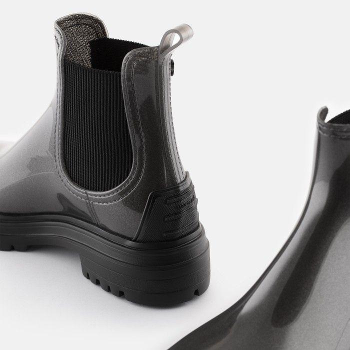 Lemon Jelly Super Light Grey Rain Boots w/ Toecap STROLLER 04